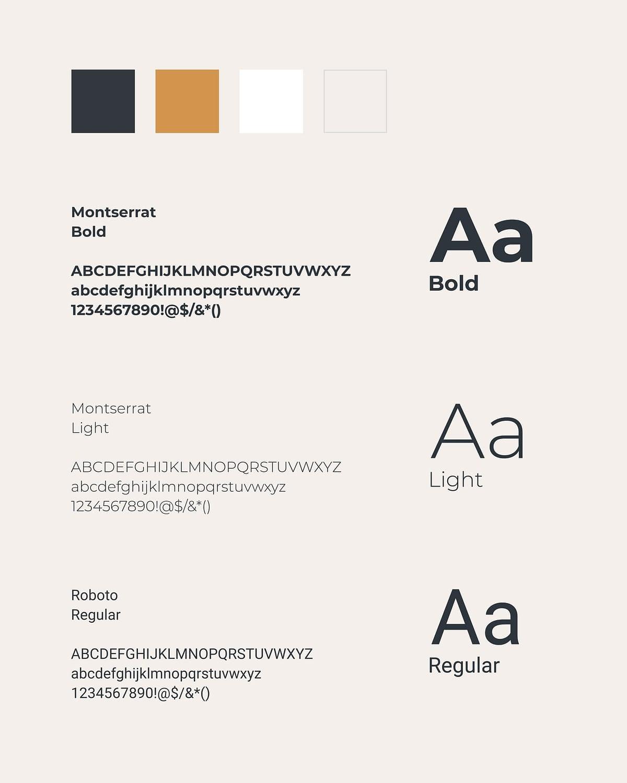 corporate design typografie für offthepath