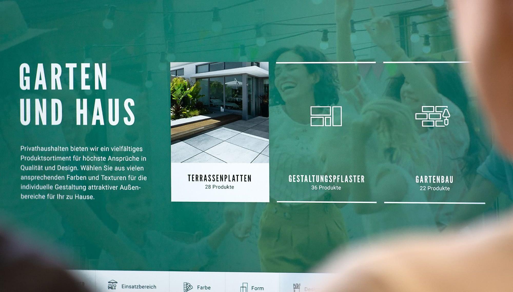 icons webdesign für kortmann beton