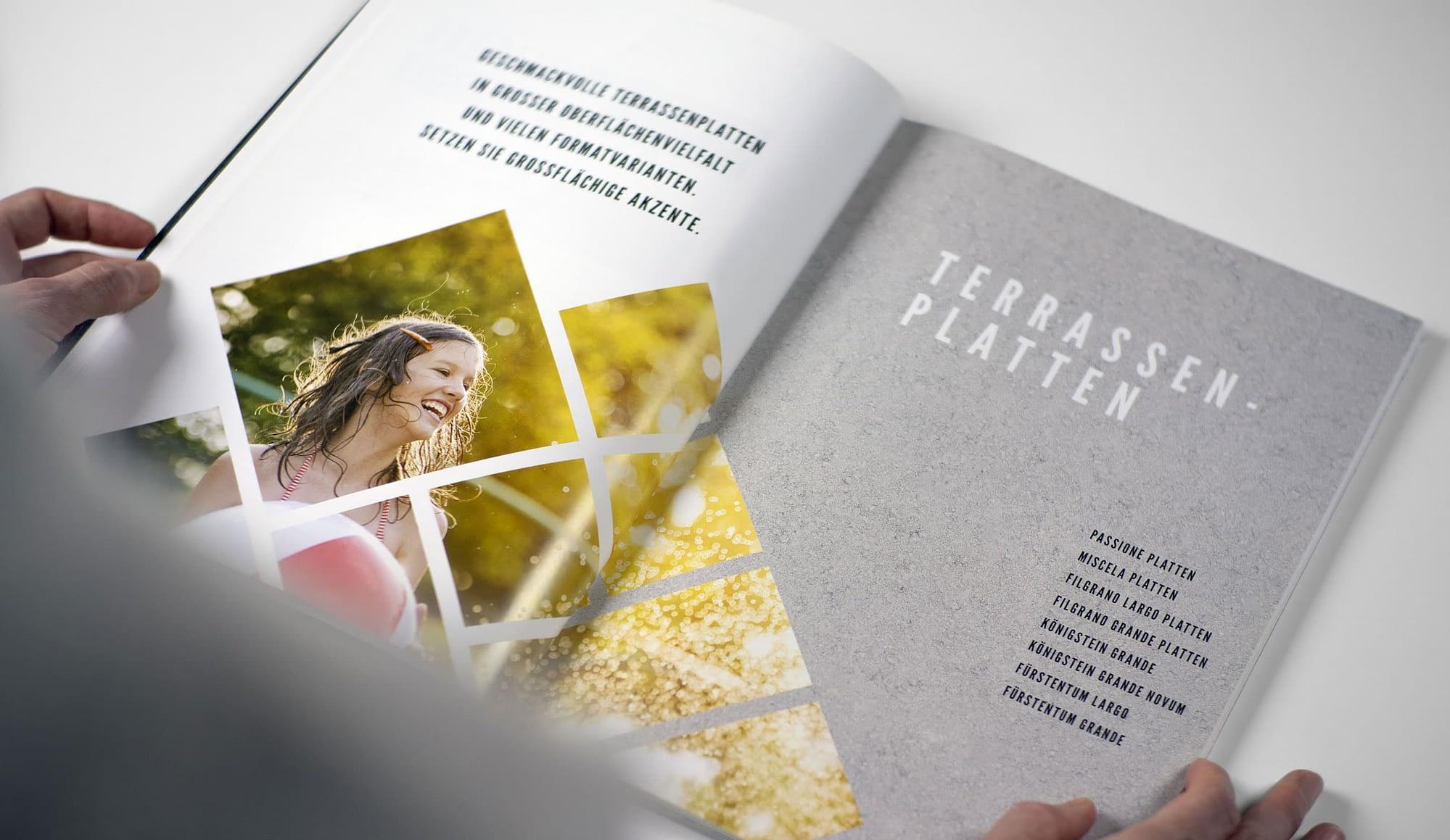 broschüre grafikdesign für kortmann beton