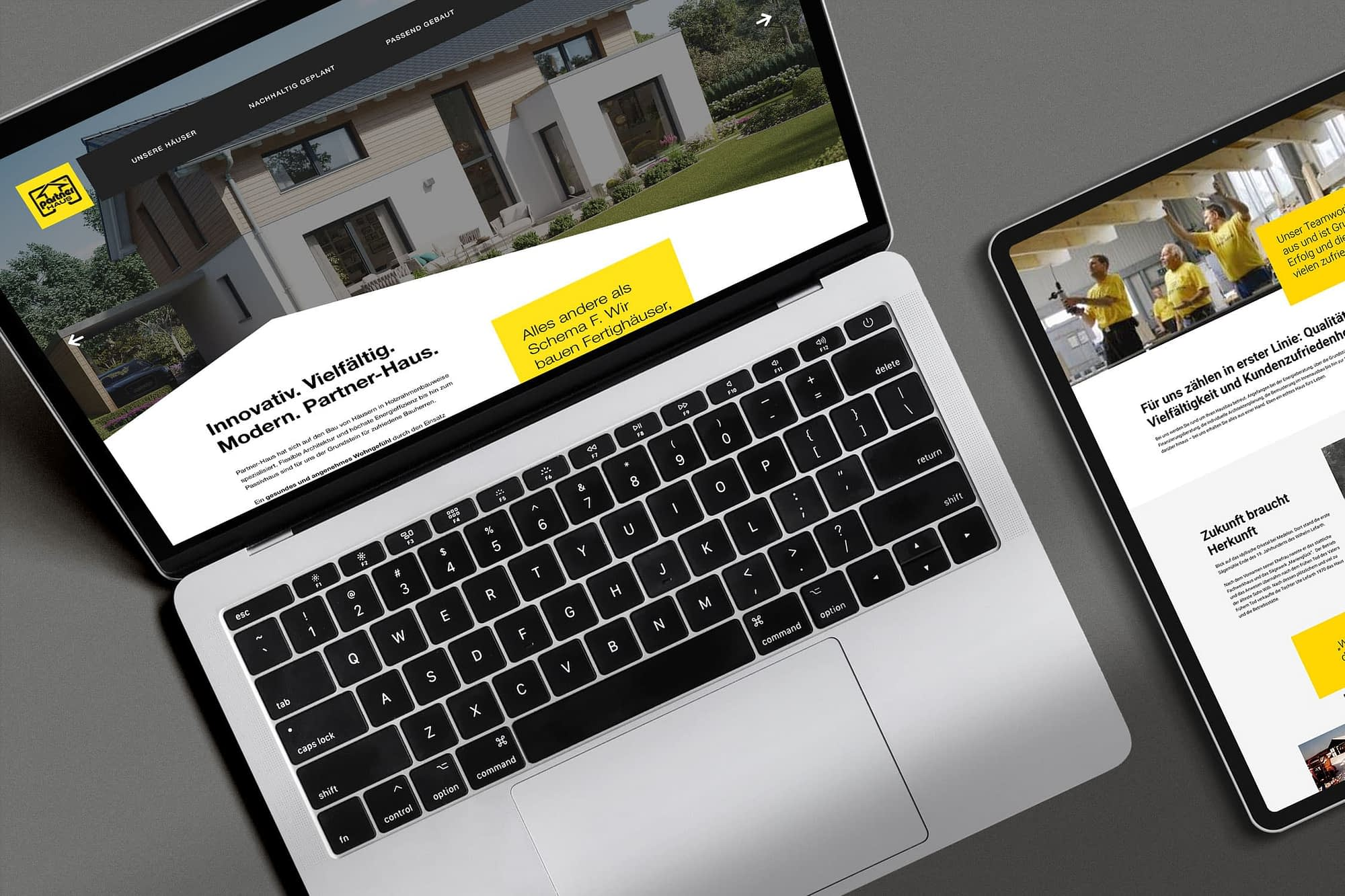 webdesign webrelaunch für partner haus