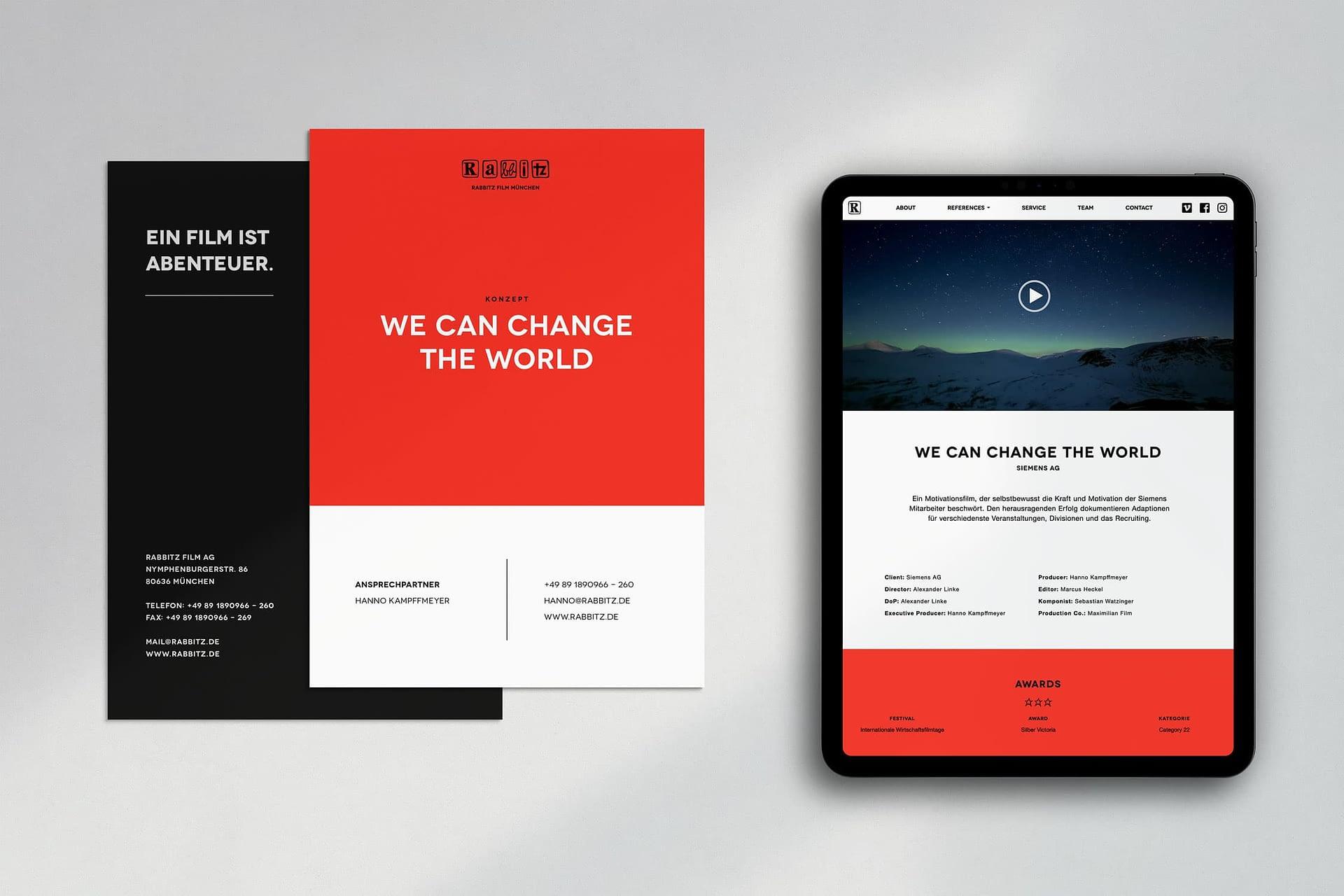 responsive webdesign für rabbitz
